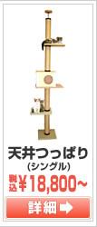 天井つっぱり(シングル)キャットタワー